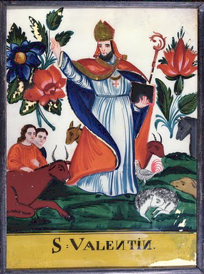 Sowing The Seeds The Feast Day Of St Valentine Feb 14th